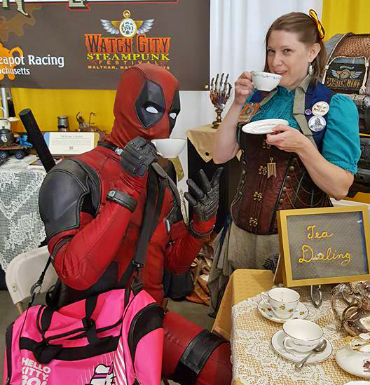 Tea with Deadpool